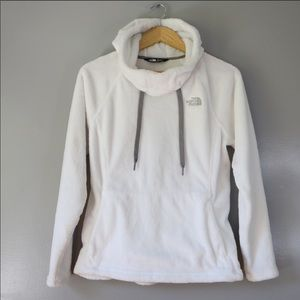 North face white hoody size M
